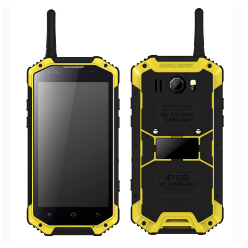4.7 inch NFC PTT rugged android Intercom phone or android interphone HR475