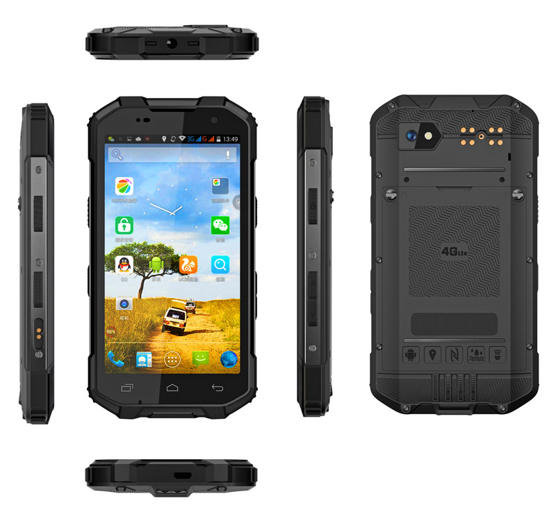 5 inch Android IP68 4G LTE Networks NFC Octa-core 2.0GHz rugged phone waterproof phone rugged smartphone outdoor phone