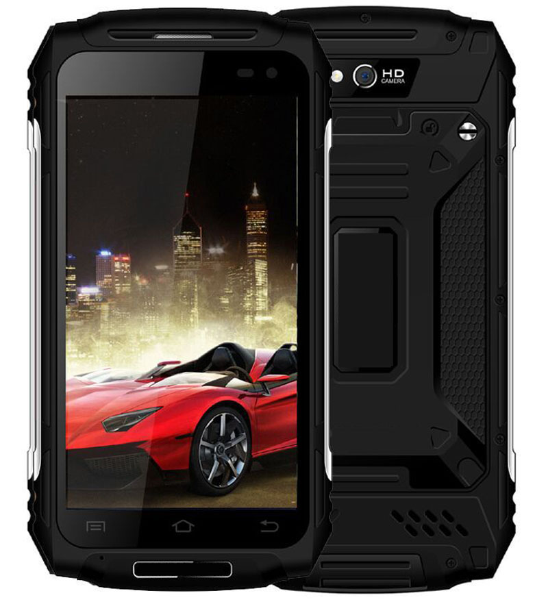 5.5 inch MTK6737 Android 6.0 rugged phone 2+16 waterproof smartphone 4G LTE Mobile phone with 5000mAh battery