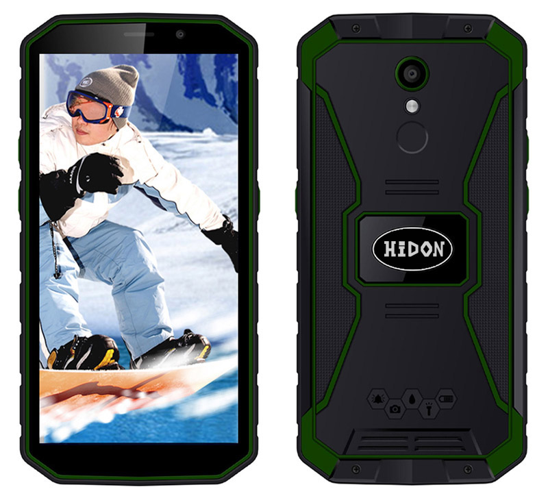 5.5 inch Android 8.1 Waterproof Mobile Phone 2+16 Rugged phone 4G LTE Smartphone
