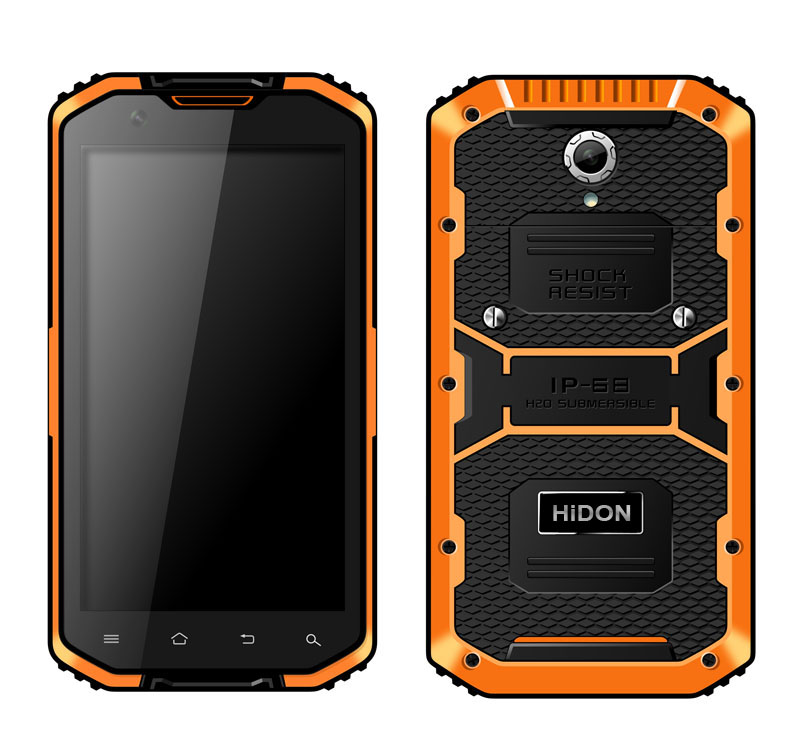 5.5 inch Android Rugged Smart phone or Rugged smartphone or rugged mobile Phone HR555