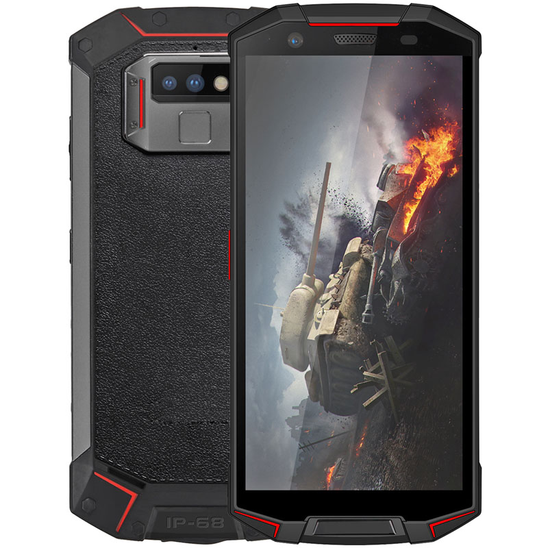5.99 inch MTK6763T Octa-core Android 8.1 rugged phone 4+64 smart phone 4G Waterproof Phone with NFC Function