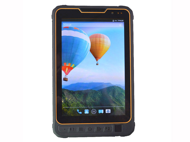 Highton 8Inch Qualcomm MSM8937 Octa-core Android 7.0 3G ram + 32G Rom Rugged Pad With IC card reader / Fingerprint scanner / UHF RFID Rugged computer