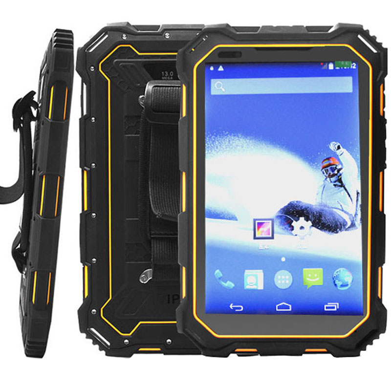 HiDON 7 inch 4G FDD LTE Android NFC Rugged Android Tablets IP68 Fully-Rugged Tablet PC Computer